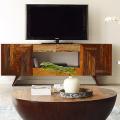 Тумба под телевизор в современном стиле: обзор вариантов и материалов фото