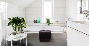 Ванная в скандинавском стиле: 80+ потрясающих идей дизайна, в которые невозможно не влюбиться! фото
