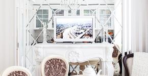 Зеркало в кухонном интерьере: секреты визуального расширения кухни фото