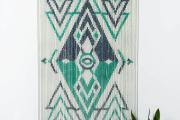 Фото 1 Подвесной декор на дверном проеме: идеи и варианты в стиле бохо, кантри и рустик