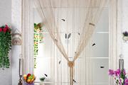 Фото 28 Подвесной декор на дверном проеме: идеи и варианты в стиле бохо, кантри и рустик