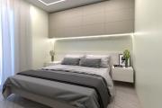 Фото 9 Шкафы в спальню над кроватью: интерьерное применение, материалыи установка