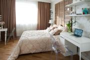 Фото 21 Шкафы в спальню над кроватью: интерьерное применение, материалыи установка