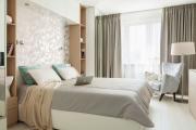 Фото 24 Шкафы в спальню над кроватью: интерьерное применение, материалыи установка