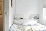 Фото 28 Шкафы в спальню над кроватью: интерьерное применение, материалыи установка
