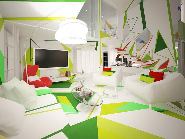 Занимательная абстрактность в современном дизайне