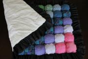 Фото 17 Одеяло бомбон (85+ фото): уютные идеи своими руками и пошаговый мастер-класс
