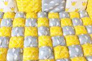 Фото 9 Одеяло бомбон: уютные идеи своими руками и пошаговый мастер-класс