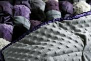 Фото 14 Одеяло бомбон (85+ фото): уютные идеи своими руками и пошаговый мастер-класс