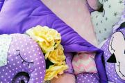 Фото 6 Одеяло бомбон: уютные идеи своими руками и пошаговый мастер-класс
