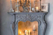 Фото 7 Декоративный каминный портал: как сделать стильный фальш-камин своими руками?