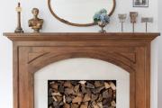 Фото 1 Декоративный каминный портал: как сделать стильный фальш-камин своими руками?