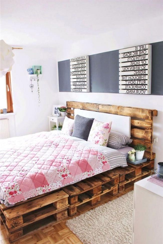 Такая кровать станет изюминкой интерьера вашей спальни