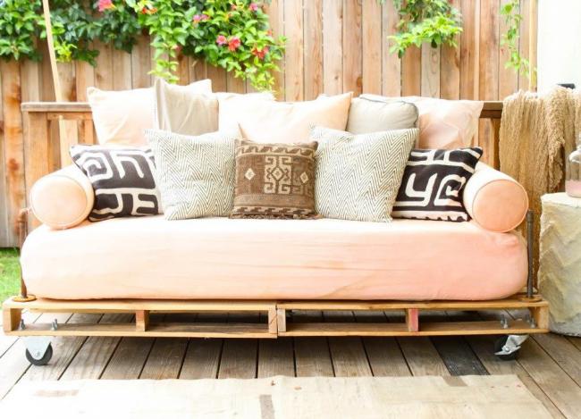 Мебель для дачи, сделанная своими руками