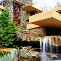 Обаяние антиурбанизма (50+ фото): обзор «Дома над водопадом» Фрэнка Ллойда Райта и почему он так знаменит? фото