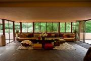 Фото 13 Обаяние антиурбанизма (50+ фото): обзор «Дома над водопадом» Фрэнка Ллойда Райта и почему он так знаменит?