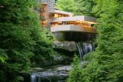 Фото 5 Обаяние антиурбанизма (50+ фото): обзор «Дома над водопадом» Фрэнка Ллойда Райта и почему он так знаменит?