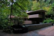 Фото 15 Обаяние антиурбанизма (50+ фото): обзор «Дома над водопадом» Фрэнка Ллойда Райта и почему он так знаменит?