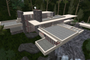 Фото 9 Обаяние антиурбанизма (50+ фото): обзор «Дома над водопадом» Фрэнка Ллойда Райта и почему он так знаменит?