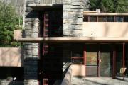 Фото 4 Обаяние антиурбанизма (50+ фото): обзор «Дома над водопадом» Фрэнка Ллойда Райта и почему он так знаменит?