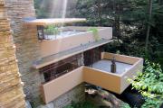 Фото 11 Обаяние антиурбанизма (50+ фото): обзор «Дома над водопадом» Фрэнка Ллойда Райта и почему он так знаменит?