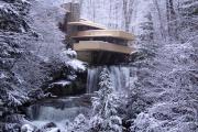 Фото 18 Обаяние антиурбанизма (50+ фото): обзор «Дома над водопадом» Фрэнка Ллойда Райта и почему он так знаменит?