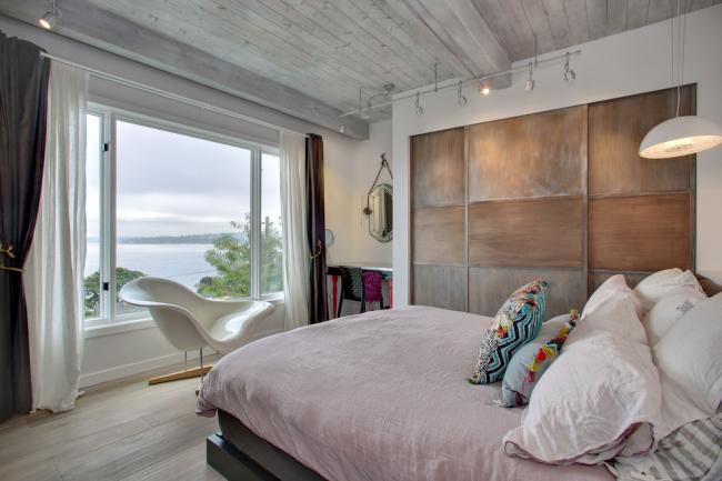 Красивый дизайн спальни в стиле шебби-шик