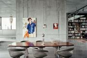 Фото 5 Контраст, фактура и натуральность: особенности стиля гранж в интерьере