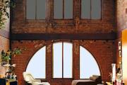 Фото 28 Контраст, фактура и натуральность: особенности стиля гранж в интерьере