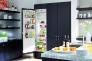 Фото 3 Встроенный в шкаф холодильник: выбор техники и виды установки для максимального комфорта