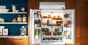 Встроенный в шкаф холодильник: выбор техники и виды установки для максимального комфорта фото
