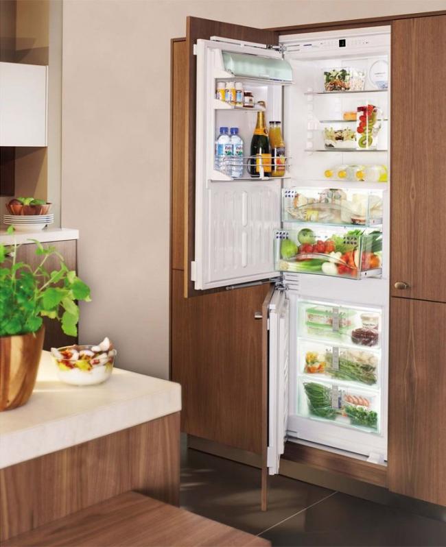 Классический двухкамерный холодильник