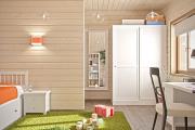 Фото 7 Кантри-настроение: создаем интерьер детской комнаты в деревянном доме