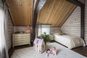 Фото 9 Кантри-настроение: создаем интерьер детской комнаты в деревянном доме