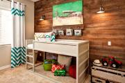 Фото 16 Кантри-настроение: создаем интерьер детской комнаты в деревянном доме