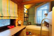 Фото 32 Кантри-настроение: создаем интерьер детской комнаты в деревянном доме