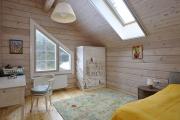 Фото 2 Кантри-настроение: создаем интерьер детской комнаты в деревянном доме