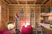 Фото 17 Кантри-настроение: создаем интерьер детской комнаты в деревянном доме
