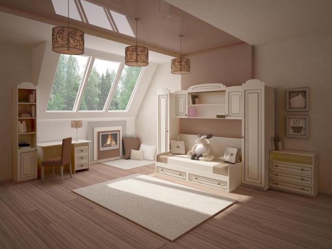 Детская комната - это отдельная волшебная территория для ребенка