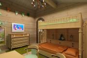 Фото 31 Кантри-настроение: создаем интерьер детской комнаты в деревянном доме