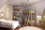 Фото 19 Кантри-настроение: создаем интерьер детской комнаты в деревянном доме
