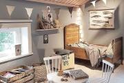 Фото 21 Кантри-настроение: создаем интерьер детской комнаты в деревянном доме