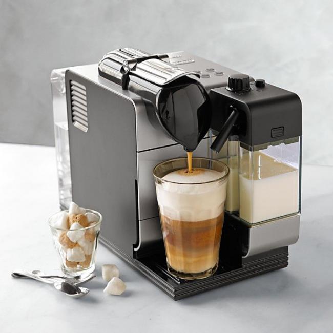 С помощью функции «Cappuccino», можно готовить этот напиток с густой молочной пенкой