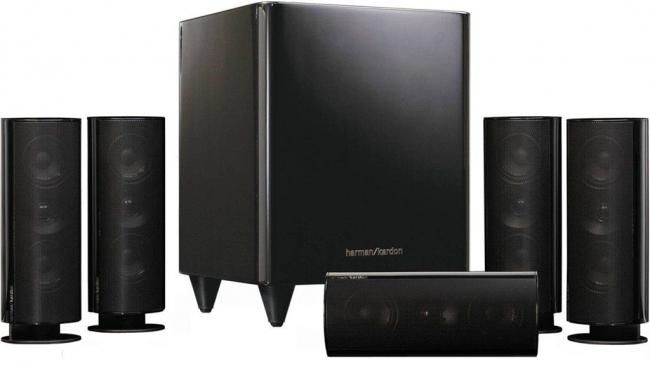 Звуковой аксессуар, состоящий из 6-ти элементов позволит качественно рассеять звук по всей комнате