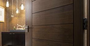 Межкомнатные двери из экошпона: советы по выбору и как сэкономить на покупке двери? фото