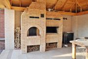 Фото 6 Печь-камин из кирпича: как выбрать место и все секреты уютной каминной зоны