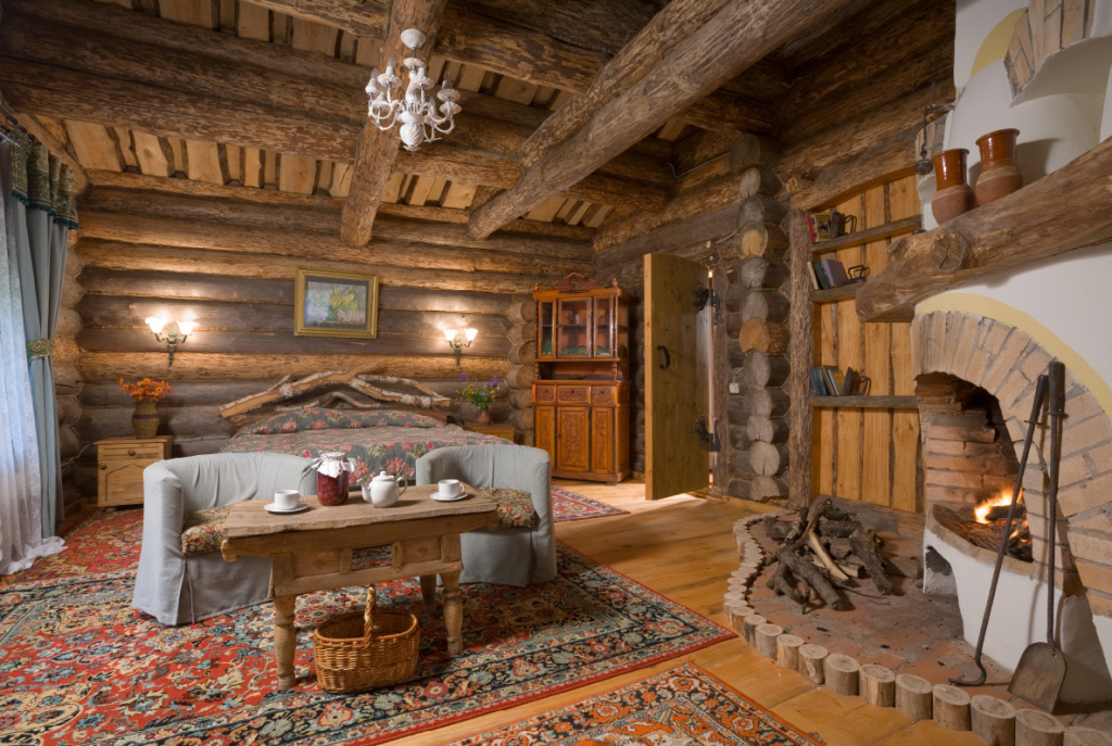 Печь-камин из кирпича 60 Уютных идей для дома Дизайн