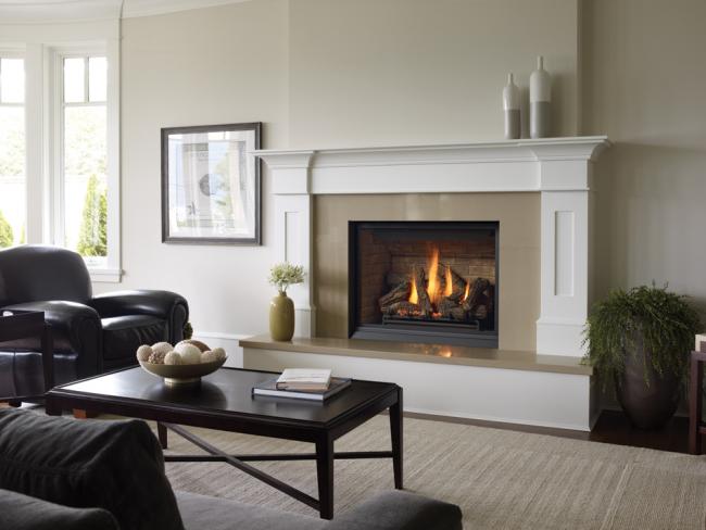 Камин наполняет дом атмосферой тепла и уюта