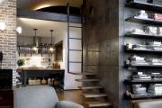 Фото 6 Полки на потолке: как сэкономить полезное пространство в квартире? Идеи и советы