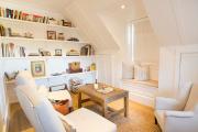 Фото 33 Полки на потолке: как сэкономить полезное пространство в квартире? Идеи и советы